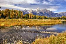 Leigh Lake Trail At Grand Tetons - Wyoming - USA