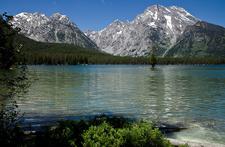Leigh Lake Trail - Grand Tetons - Wyoming - USA