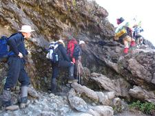 Lemosho Route Tricky Climbs - Kilimanjaro
