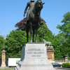Leopold II Horseback Riding Statue