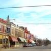 Le Roy Illinois. Downtown.