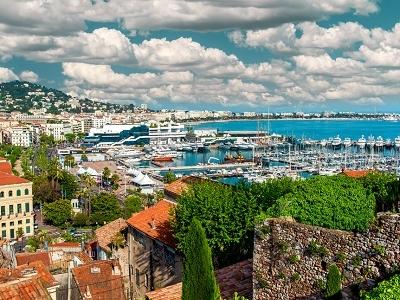 Le Suquet & Port Le Vieux Of Cannes