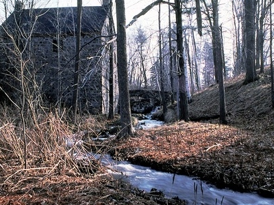 The Old Mill At Mont Saint-Bruno