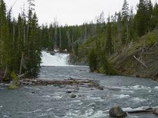 Lewis Falls - Yellowstone - USA