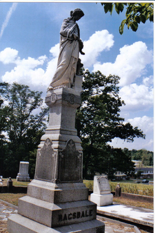 Lewis Ragsdale Grave 1