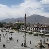 Lhasa Tibet - Town Square