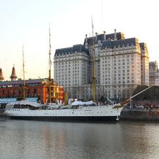 Libertador Building In Argentina