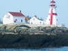 Lighthouse On  Campobello  Island
