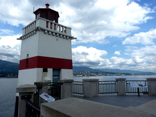 Lighthouse Of Stanley Park
