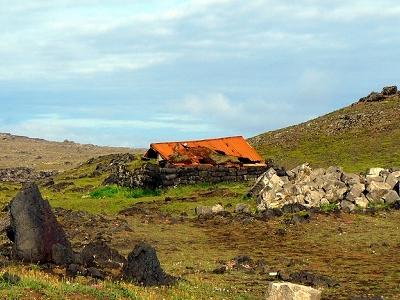 Lighthouse Ruins In Reykjanes Peninsula