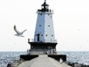 Lightning Volt  Ludington  Lighthouse