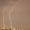 Lightning Over Tulsa Cropped