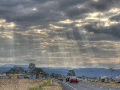 Warrego Highway Looking Towards Toowoomba