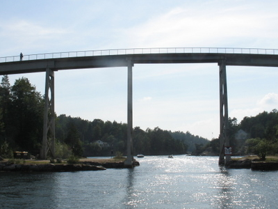 Justøy Bridge Over Blindleia In Lillesand