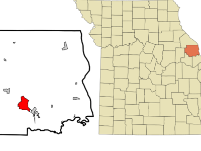 Lincoln  County  Missouri  Incorporated And  Unincorporated Are