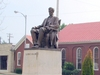 Lincoln  Statue At  Town  Square In  Hodgenville  K Y