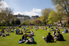 Lincoln's Inn Fields In Spring 2006
