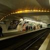Line 10 Platforms At Maubert-Mutualité