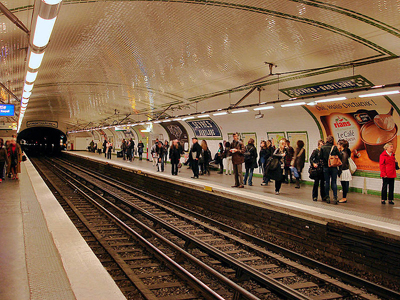Line 12 Platforms At Sèvres - Babylone