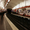 Line 4 Platforms At Saint Michel