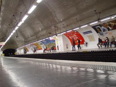 Line 4 Platforms At Étienne Marcel