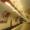 Line 7 Platform At Chateau Landon