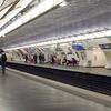 Line 7 Platforms At Les Gobelins