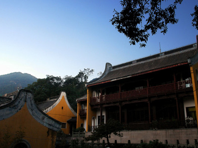 Living Quarters Of The Lingyin Monastery