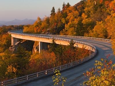 Linn Cove Viaduct NC Blue Ridge Parkway