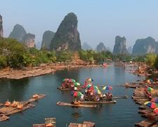 Li River In Guangxi - Guilin