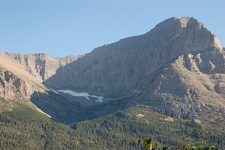 Little Chief Mountain At Glacier - USA
