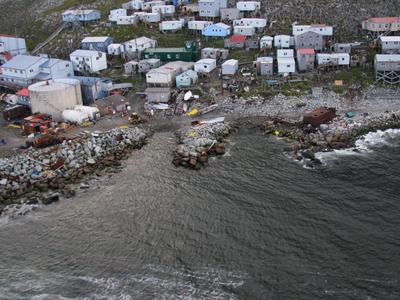Little  Diomede  Island Village