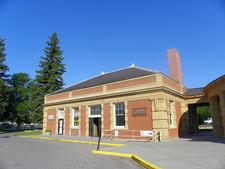 Livingston Depot Center- Yellowstone - Montana - USA