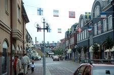 Ljungby - Storgatan Main Shopping Street