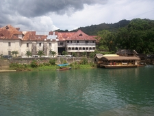 Loboc Church With Floating Restaurant