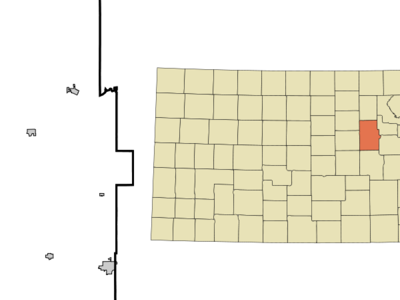 Location Of Abilene Kansas