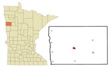 Location Of Ada Minnesota