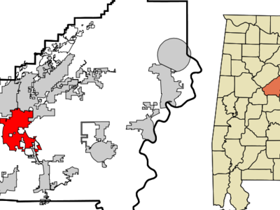 Location In Shelby County And The State Of Alabama