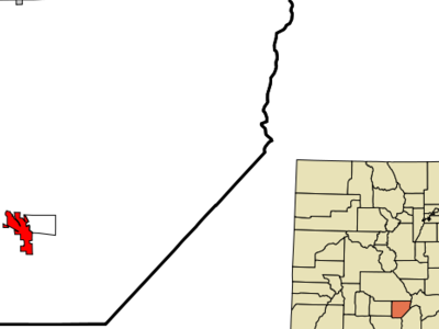 Location In Alamosa County And The State Of Colorado