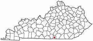 Location Of Albany Kentucky