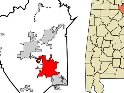 Location In Marshall County And The State Of Alabama