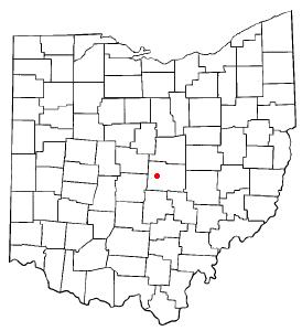 Location Of Alexandria Ohio