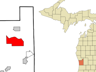 Location Of Allendale Michigan