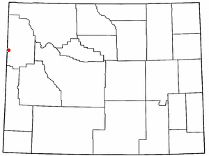 Location Of Alta Wyoming