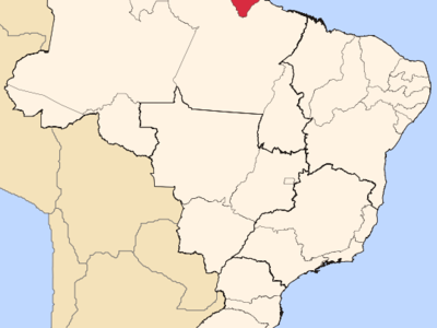 Location Of State Of Amap In Brazil