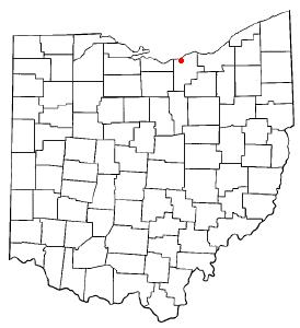 Location Of Amherst Ohio