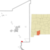 Location Of Anthony New Mexico