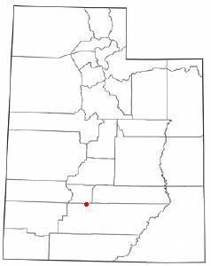 Location Of Antimony Utah
