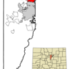 Location In Jefferson County And The State Of Colorado