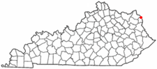 Location Of Ashland Kentucky